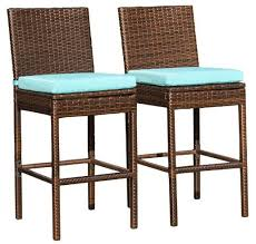 rattan outdoor bar stools