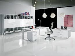 modern office furniture design. White Themes Modern Office Furniture Ideas Design M