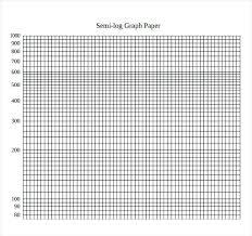 Semi Log Paper Printable Scale Large Graph Mcari Co