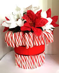 Christmas Decorations With Candy Canes Diy Glass Vase Christmas Decorations 100 Holiday Gift Ideas Candy 30