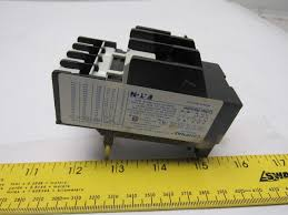 Eaton Cutler Hammer C316fna3g Ser A2 Thermal Overload Relay 1 3 1 8a