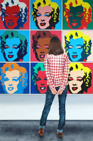 saatchi art marilyn monroe woman enjoying painting by andy warhol painting by gerard boersma