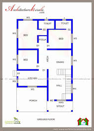 3 bedroom ground floor plan unique low cost 3 bedroom house plan kerala inspirational uncategorized 3