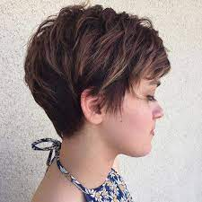 how to cut a short haircut with layers