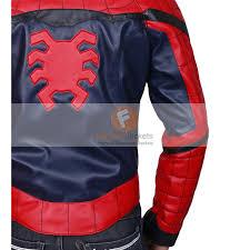 spider man homecoming peter parker tom holland real leather jacket best men s leather