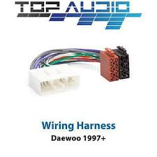 daewoo wire harness daewoo wiring diagrams cars description daewoo iso wiring harness stereo radio plug lead wire loom connector adaptor