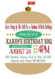 backyard birthday party invitations birthday burger bbq invitation chalkboard diy or professional