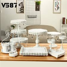 How To Display Cupcakes Without A Stand Magnificent 32PcsSet Crystal Metal Cake Stand Holder Display Cupcake Serving