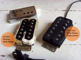 the creamery custom guitars handwound pickups creamery wide range thinline tele humbucker reissue pickup upgrade comparison