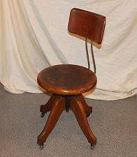 antique swivel office chair. Antique Oak Office Desk Chair Swivel Seat