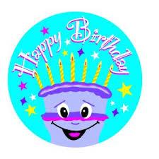 Happy Birthday Avery Avery Merit And Reward Stickers Happy Birthday 30 Mm Diameter
