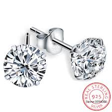 LEKANI Crystal From Swarovski Fashion Genuine <b>925 Sterling</b> ...