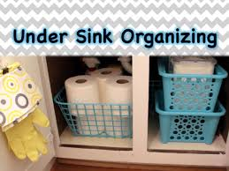 Under Kitchen Sink Organizing Dollar Tree Organizing Under The Sink Spring 2015 Youtube