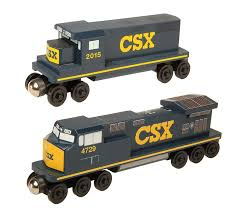 CSX GP-38 Diesel Engine – The Whittle Shortline Railroad - Wooden ...