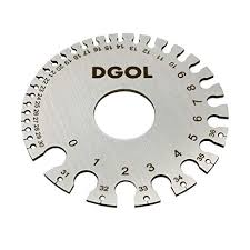 Dgol Stainless Steel Swg Sheet Metal Wire Cable Gage Standard Thickness Gauge
