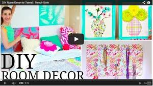 diy room decor for teens tumblr style craft teen