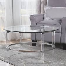 small round glass coffee table christopher knight home coffee console sofa end tables