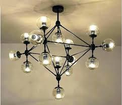 glass ball pendant chandelier lights light fixture modern lamp hanging villa project bubble m
