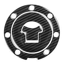 Red Dynamic Carbon Fibre Fuel Cap Protector for <b>Honda</b> motorcycles