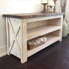 ... Homey Idea Media Console Table Plain Ideas Island Cottage Salt Creek  Farmhouse ...