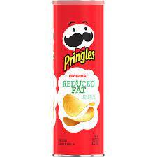 Pringles Reduced Fat Original Potato Crisps - 4.9oz : Amazon.de: Grocery