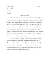 The College Essay Some Sample College Application Essay Undergrad Law College