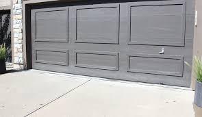 painting a garage door painting a garage door a dark color black fox by