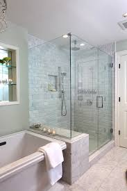 bathroom shower tile ideas traditional. 5x7 Bathroom Design Ideas Traditional With Stone Tile Tiled Shower Soaker Tub W