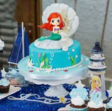 Disney Ariel Little Mermaid Princess Cake Topper Figurine Underwater