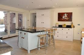 Kitchen Island, Free Standing Islands With Seating For 4 Chair White Color  Cabinet Storage Plus