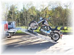 Load and transport Motorcycles, Power Loader for Pickup trucks
