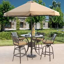 Patio Furniture Patio Table And Chairs With Umbrella Set Hole