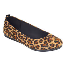 getcity ballet flats leopard fabric easy spirit comfortable shoes for women originator of e360 antigravity and the traveltime