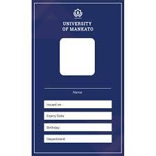 Id Card Templates Free 40 Blank Id Card Templates Psd Ai Vector Eps Doc