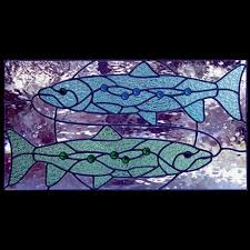 zodiac stained glass patterns pisces sunlight studio stained glass patterns
