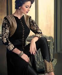 Ladies Shalwar Kameez Design 2018 25 Beautiful Black Shalwar Kameez Designs For Girls