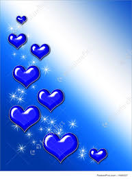 blue heart background. Contemporary Blue Holidays Blue Hearts And Sparkles On Blue Gradient Background On Heart Background K