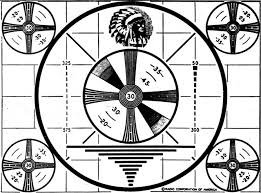 Indian Head Test Pattern Fascinating The Television Test Pattern January 48 Radio Television News