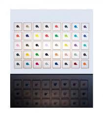 Peter Atkins Work Tamiya Colour Chart 2017