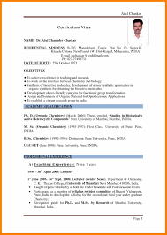 6 Fresher Teacher Resume Format Pdf Actor Resumed
