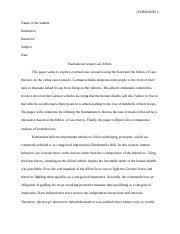 nursing leadership paper edited running head leadership 4 pages ethic essay edited