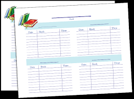 Printable Reading Chart For Classroom Fellowes