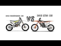 2018 ktm motocross bikes. interesting bikes 2018 ktm 125 vs husqvarna for ktm motocross bikes