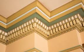 decorate your house using crown molding