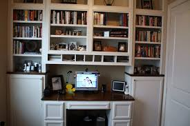 ... Amazing Bookcase With Built In Desk Built In Desk Ideas For Small  Spaces ...