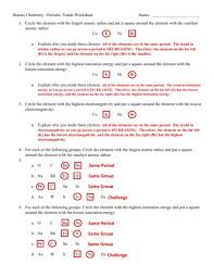 Periodic Table Practice Worksheet Answer Key | Www.microfinanceindia.org