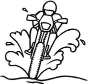 Motorfietsen Kleurplaten Gratis Printbare Kleurplaten
