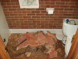Bathroom Tile Repair Gorgeous Small Bathroom Tile Fix