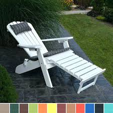 merry garden adirondack chair folding resin foldable with pull out ottoman