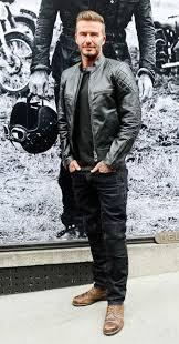 plain t shirt leather jacket denim jeans boots